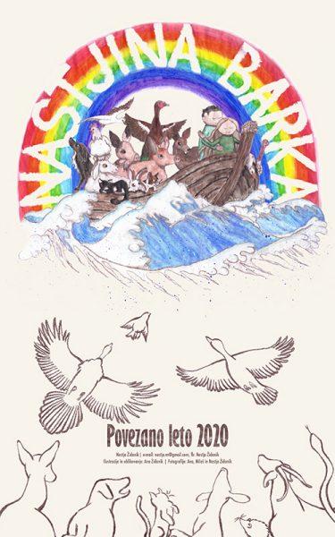 13-listni koledar Nastjina barka lahko kupite za simboličnih 12 evrov, z nakupom pa boste pomagali rešenim živalim, ki so svoje pribežališče našli pri Nastji Židanik.