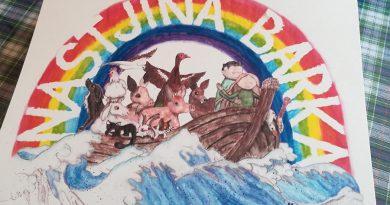 Med koledarji prvič tudi Nastjina barka